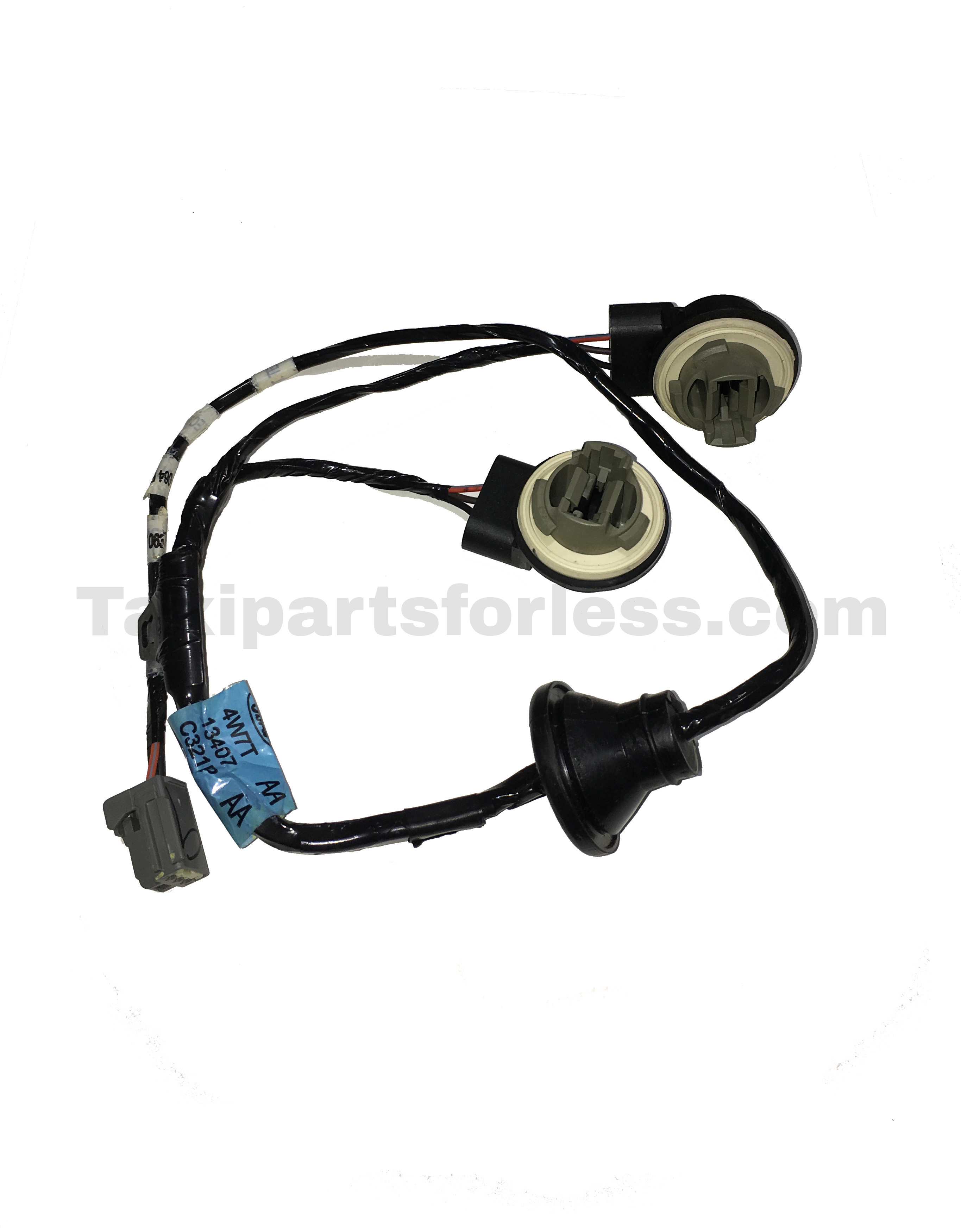 yw7z13410ba (2) & wire harness fits 03 04 grand marquis & 04 crown victoria new crown victoria wire harness at gsmportal.co