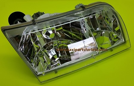 Right Side Headlamp, Or Passanger Side. Fits: 1998-2011 Crown Victoria,