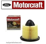 Brand New Motorcraft Air Filter. Part# FA-1632 Or F50Z9601BA Fits: 92'-08' Ford E150, E250, E350