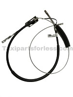 EMR Parking Brake Cable (LH) Fits: 96 Crown Vic , 97 Grand Marquis