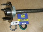 2006-2011 Crown Victoria, Grand Marquis. New Rear Axle.  Complete With Bearing & Seal
