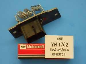 90-05 Crown Victoria, Grand Marquis, Lincoln Town Car, New NEW Blower Motor Resistor. MOTORCRAFT. Free Shipping On Orders Over $99