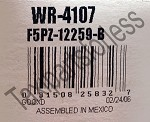 Genuine Spark Plug Wire Set OEM # F5PZ-12259-B 1995-1998 Ford Windstar. Free Shipping On Orders Over $99