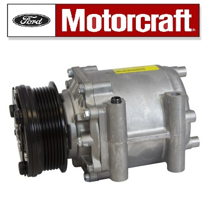 New AC Compressor With Clutch  Fits: 2003-2005 Crown Victoria, Grand  Marquis, Town Car  This Item Ships For Free
