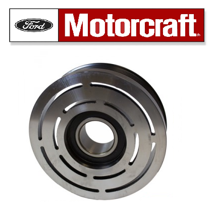 AC Compressor Clutch Pulley, Motorcraft. Fits:  1993-2002 Crown Victoria.