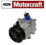 AC Compressor With Clutch. Motorcraft Part# YCC283 Fits: 2007-2011 Grand Marquis, Crown Victoria, 2008 Explorer, Explorer. Ships For Free