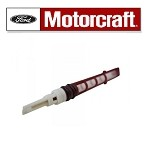Motorcraft AC Orifice Tube. OEM Dark Red. Fits:2004-2005 Lincoln Town Car, 1992-2010 Ford E150-E450