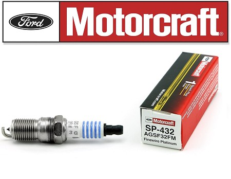 Fine Wire Doubel Platinum Spark Plug. Motorcraft Part# SP432 Fits: 1992-1997 Crown Victoria, Grand Marquis, Town Car. Also Compatible With Many Other Vehicles. Please Click On The Drop Down Box For Compatibility