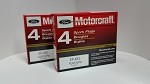 Spark Plugs (Platinum) Motorcraft Brand. (2 boxes= 8pcs) Part# SP-493. Free Shipping On Orders Over $99
