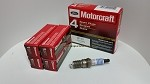 Spark Plugs (Platinum) Motorcraft Brand. (1 box= 4pcs) Part#SP493. Free Shipping On Orders Over $99